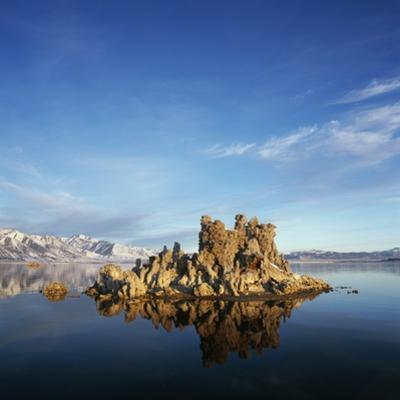 Rock Formations in Mono Lake