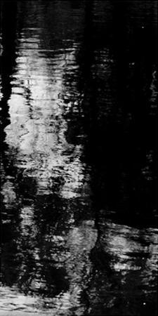 Reflecting Triptych III by Michael Barrett