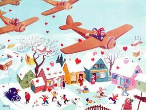 Valentines Flyers - Jack & Jill by Michael Berry