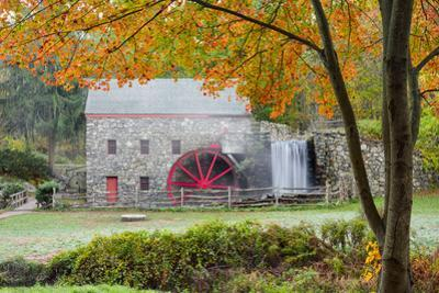 Autumn at the Grist Mill by Michael Blanchette