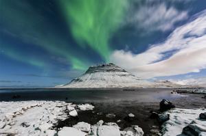 Auroral Eruption by Michael Blanchette Photography