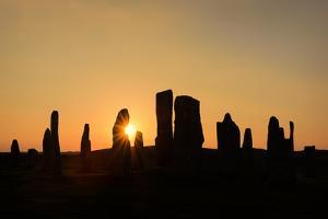 Callanish Silhouette by Michael Blanchette Photography