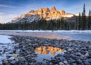 Castle Peaks by Michael Blanchette Photography