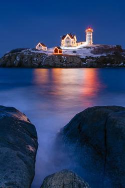Christmas on the Rocks by Michael Blanchette Photography