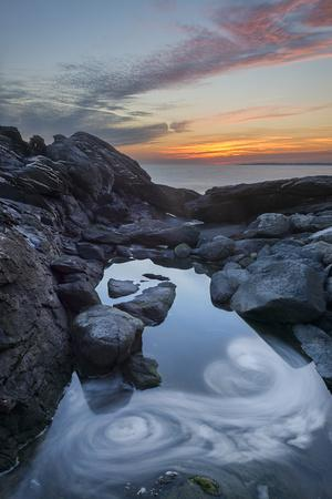 Sachuest Sunset - Vertical