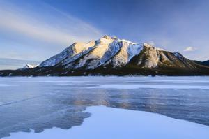 Snow Line by Michael Blanchette Photography
