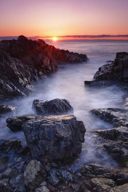 Sunrise at Marginal Way by Michael Blanchette Photography