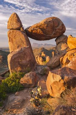 The Balanced Rock by Michael Blanchette Photography