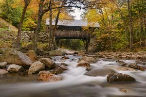 The Flume Bridge by Michael Blanchette