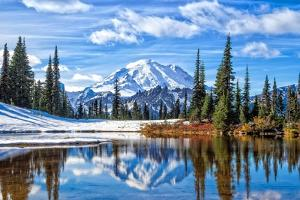 Mt. Rainier Vista by Michael Broom