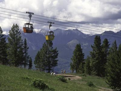 A Small Cablecar in Colorado by Michael Brown