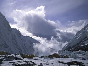 Advanced Base Camp on the Southside of Everest, Nepal by Michael Brown