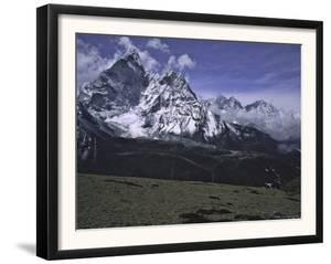 Ama Dablam Landscape, Nepal by Michael Brown