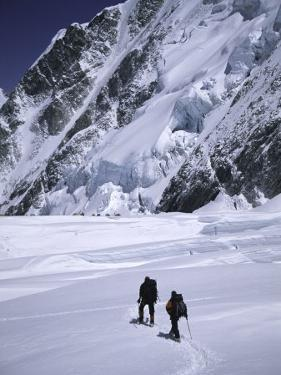 Approaching High Camp, Everest by Michael Brown