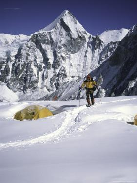 Camp One, Everest Southside by Michael Brown