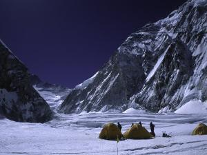 Camp One on Everest Southside by Michael Brown