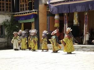 Celebration, Tibet by Michael Brown
