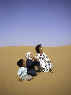 Children to the Sky, Morocco by Michael Brown