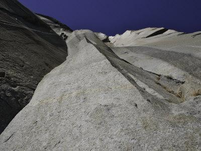 Climbing the Muir Wall at El Capitan, Yosemite National Park
