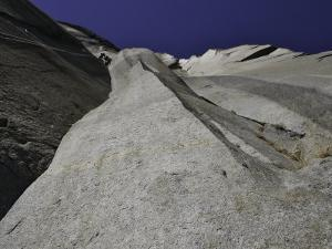 Climbing the Muir Wall at El Capitan, Yosemite National Park by Michael Brown