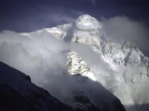 Cloudy Everest by Michael Brown
