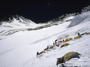 High Camp, Nepal by Michael Brown