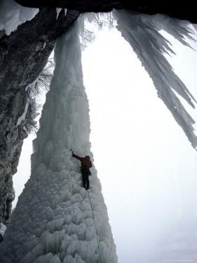 Ice Climbing, USA by Michael Brown