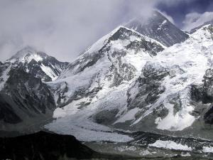 Khumbu Ice Fall, Everest Southside by Michael Brown