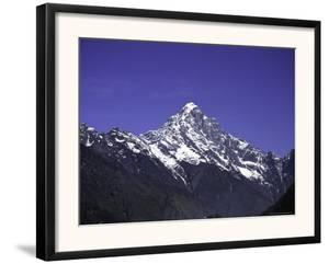 Kwandge Ri Landscape, Nepal by Michael Brown