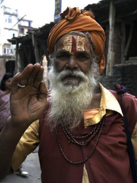 Man, Nepal by Michael Brown