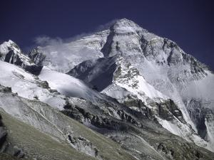 Mount Everest from the North Side, Tibet by Michael Brown