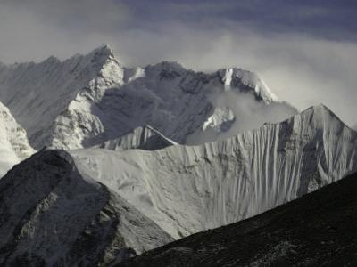 Mount Nupste from the Northside, Tibet by Michael Brown
