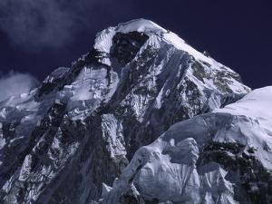 Mount Nuptse, Nepal by Michael Brown