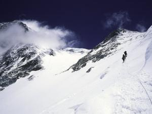Mountaineering on Mt. Everest Southside by Michael Brown