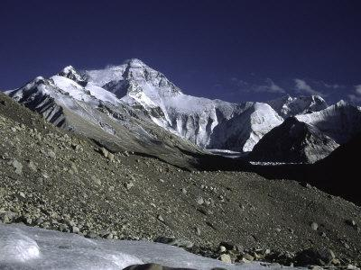 Mt. Everest Seen from the North Side, Tibet