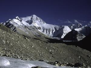 Mt. Everest Seen from the North Side, Tibet by Michael Brown