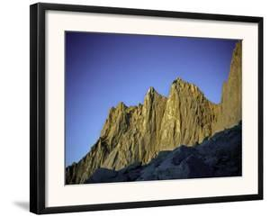 Mt. Whitney Infront of Bright Blue Sky in California, USA by Michael Brown