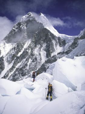 On the Way to the Top, Nepal by Michael Brown