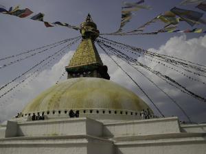 Prayer Flags, Nepal by Michael Brown