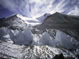 Seracsin Front of Mount Everest by Michael Brown