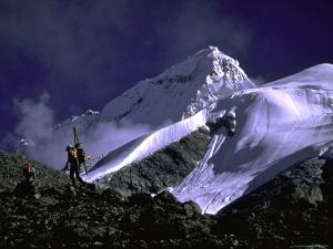 Ski Mountaineering Shishapangma, Tibet by Michael Brown