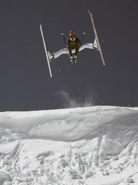 Skier Jumping, USA by Michael Brown