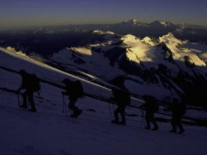 Sunrise at Aconcagua, Argentina by Michael Brown