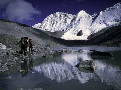 Trekking Shishapangma Area, Tibet by Michael Brown