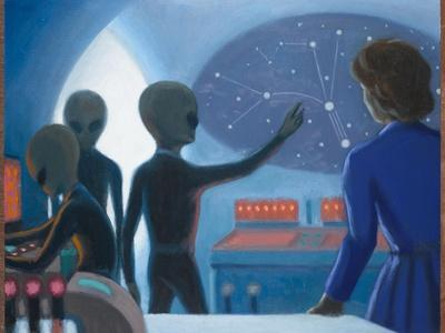 Betty Hill Abducted Aboard an Alien UFO