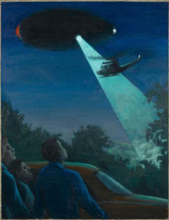 Coyne Helicopter Observes a UFO by Michael Buhler