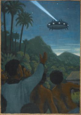 Missionary and 37 Others See a Hovering Saucer At Boianai by Michael Buhler