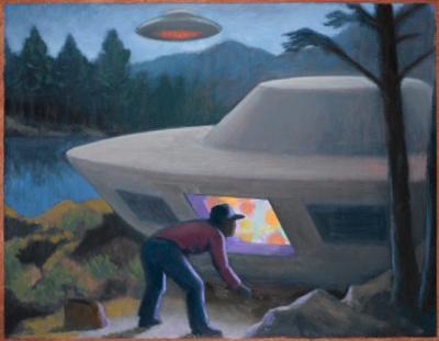 Steven Michalak Encounters a UFO at Falcon Lake, Canada by Michael Buhler