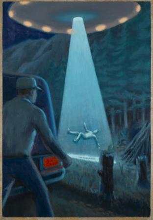 Travis Walton Abduction by Michael Buhler
