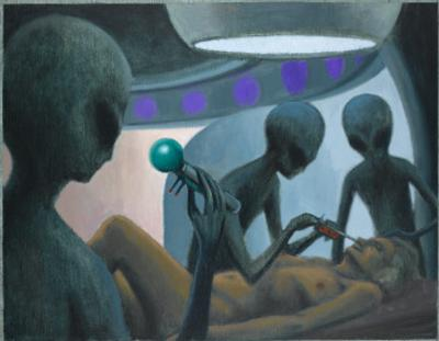 UFO Abductions by Michael Buhler